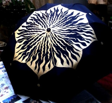 8. HOLIDAY PAINTED UMBRELLA COLLECTION