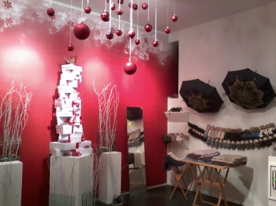 14. ART INSTALLATION FOR HOLIDAY SHOP