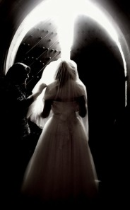 12. BRIDE TOWARDS THE LIGHT